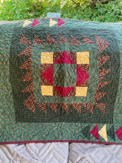 Greens & Reds Christmas Table/Wall Quilt