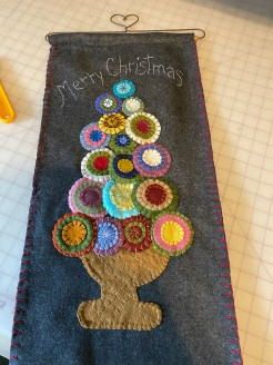 Wooly Penny Wall Hanging
